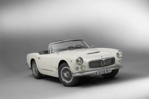 1961 Maserati 3500 GT Spider Vignale