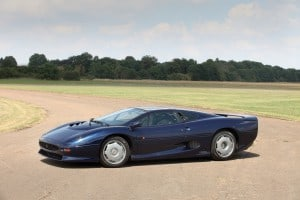 1993 Jaguar XJ220, auctioned by RM Sotheby's at 8 September 2014 for £165,200, photo RM Sotheby's