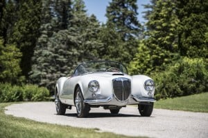 1955 Lancia Aurelia B24S Spider, auctioned by Bonhams at 18 August 2017 for £982,500 (9) kopie