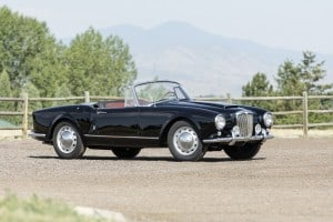 1958 Lancia Aurelia B24S Convertible, auctioned by Bonhams at 18 August 2017 for £265,000 (6) kopie