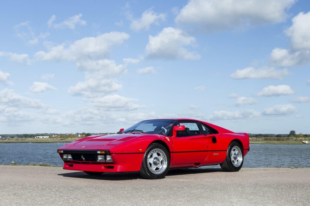1985 Ferrari 288 GTO, auctioned by Bonhams in December 2017 for £ 1,883,333. Photo Bonhams