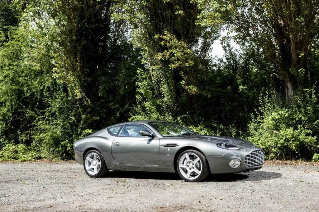 2004 Aston Martin DB7 Zagato Coupe, auctioned by Bonhams in December 2018 for £ 253,000. Photo Bonhams