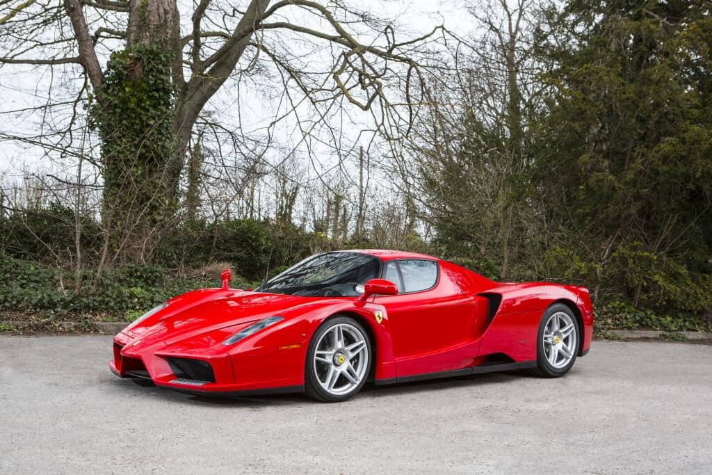 2004 Ferrari Enzo, auctioned by Bonhams in June 2015 for £ 897,000. Photo Bonhams