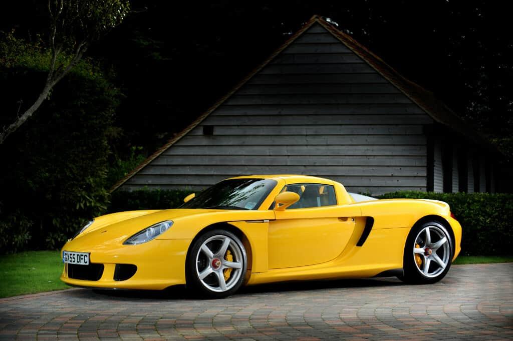 2005 Porsche Carrera GT, auctioned by Bonhams in December 2012 for £ 281,500. Photo Bonhams