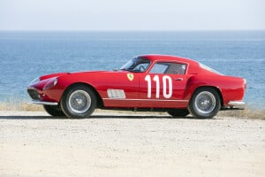 1958 Ferrari 250 GT TdF, offered by Bonhams in August 2017. Photo Bonhams. The chassis is original, the car was rebuild