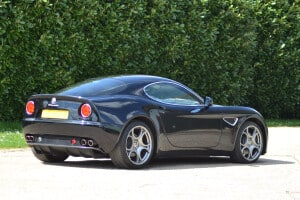 2009 Alfa Romeo 8C, auctioned by Bonhams in July 2013 for £ 90,000. Photo Bonhams.