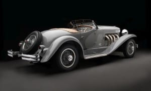 1935 Duesenberg SSJ Roadster by LaGrande. Auctioned by Gooding & Company in August 2018 for 22 million dollars.