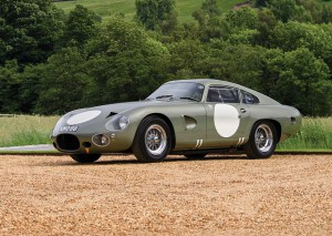 1963 Aston Martin DP215, auctioned by RM Sotheby's in Augsut 2018 for over $ 21 million, photo RM Sotheby's - Simon Clay
