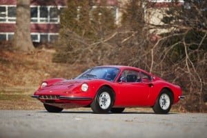 1969 Dino 206, auctioned by Bonhams in March 2015 for $495,000 (£330,000). Photo Bonhams