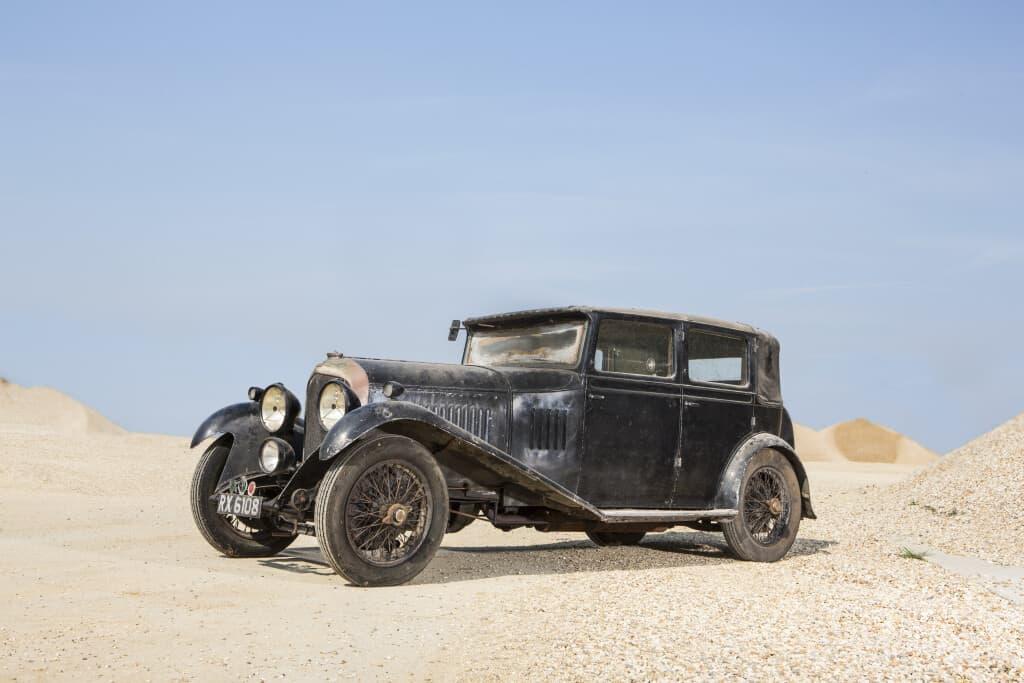 1929 Bentley 4.5-Litre Saloon by H.J. Mulliner