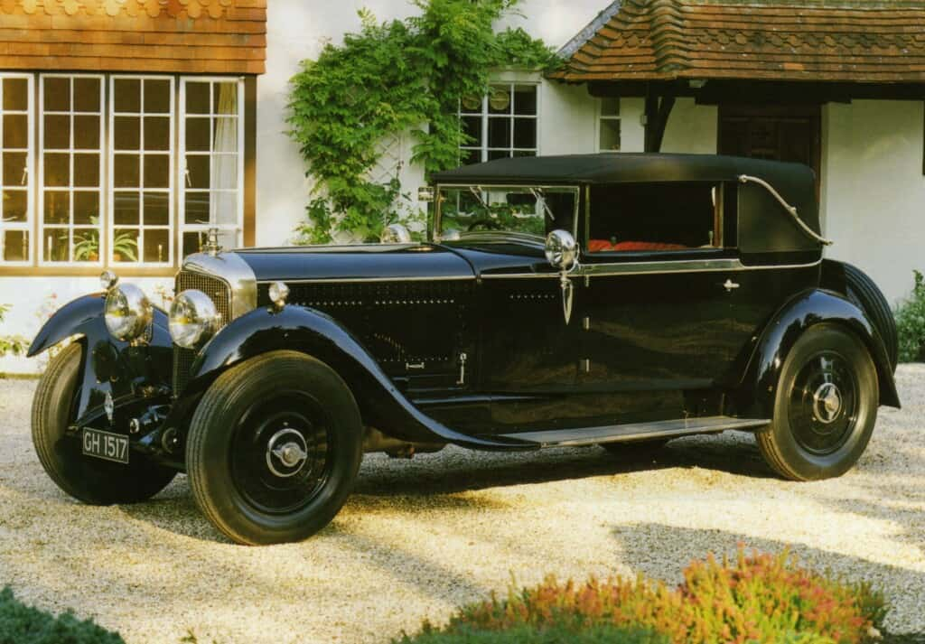 1930 Bentley Speed Six Drophead Coupe by H.J. Mullier