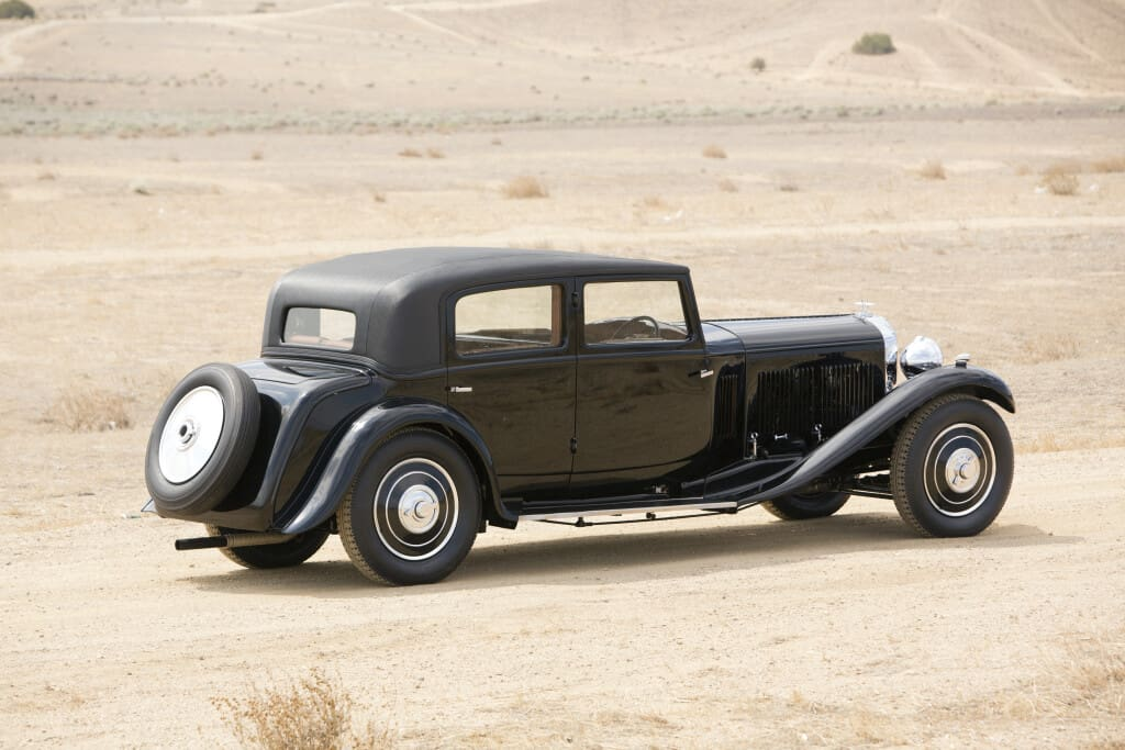 1932 Bentley 8-Litre Saloon by A. Mulliner