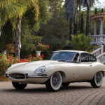 1961 Jaguar E-Type 'Flat Floor' Coupe, auctioned by RM Sotheby's in August 2018 for $ 720,000 (£ 560,500). Photo RM Sotheby's, David Bush