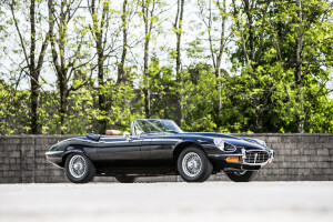 1975 Jaguar E-Type S3 Commemorative Roadster, auctioned by Bonhams in June 2015 for £ 203,100. Photo Bonhams