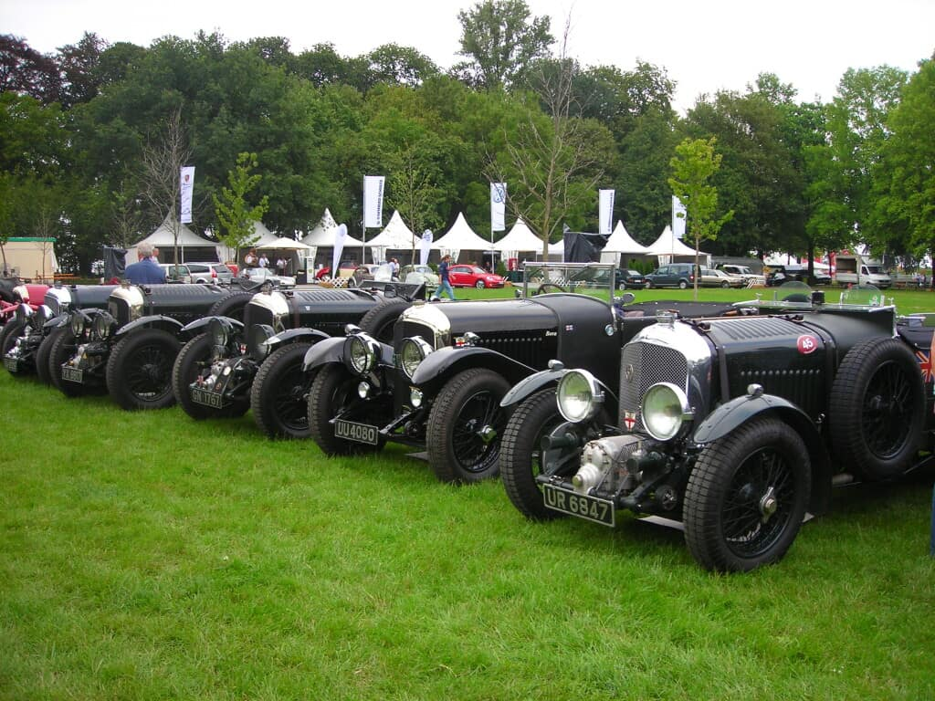 Bentley's at an event